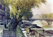 Puzzle Paris la Seine en 1900