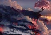 Puzzle cerisier survivant