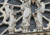 Puzzle Statuaire façade N. Dame PARIS