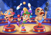 cartoon circus