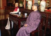 Chine personnages en cire