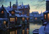 Nuit sous la neige