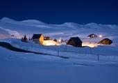 Village de Sibérie, Russie