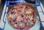Pizza cuite