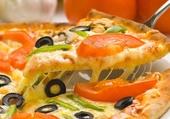 chaude la pizza