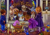 Puzzle magasin d'animaux