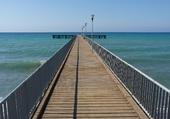 ponton à Chypre