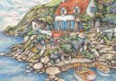 maison au bord de l'eau