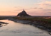 Le Mont St Michel et le Couesnon