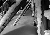 Puzzle hiver en station