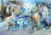 anges chevaux