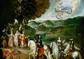 allegorie du mariage de louis XIV