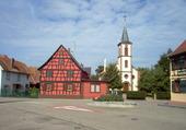 Puzzle Eglise protestante Dalhunden