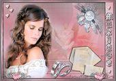 Puzzle gratuit mariée rose