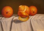 Orange pelée