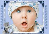 Puzzle gratuit Bébé bleu
