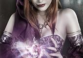 Puzzle Dame sorcière