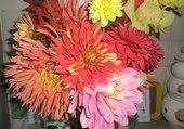 dahlias en bouquet