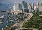 Urbain la ville de Hong-kong