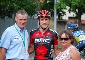 Danillo Wyss et les parents