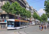 Puzzle Tram sur la Canebière