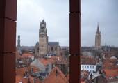Puzzle Toits de Bruges