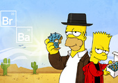 simpsons' breaking bad