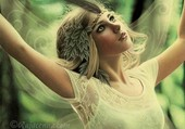 fairy of the magical forest