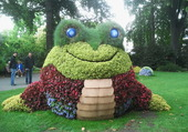 Puzzle le monstre fleuri