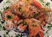 Assiette de homard
