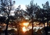 Coucher du soleil à Sète