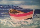 Barque rose