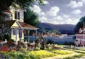 prés du lac