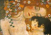 La mère et l'enfant Klimt