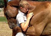 Calin avec mon cheval
