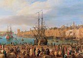 L'arrivee au port de Marseille