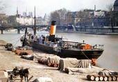 Puzzle bateau à Paris 1900