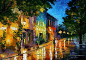 Leonid AFREMOV Village