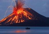 volcan de Krakatoa