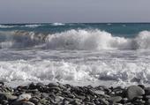 la mer de Libye en Crète