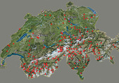 Puzzle les barrages Suisse