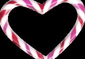 Puzzle le coeur bonbon