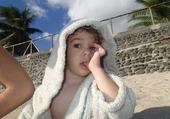 Doudou on the beach