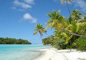 plage des îles Cook 1