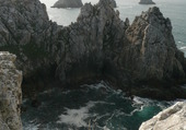 Pointe de Pen-Hir Roches noires