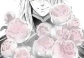 Undertaker with roses