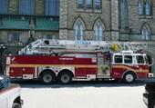 Voiture de pompiers canadienne