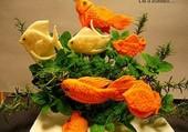 Puzzle légumes à écailles