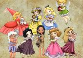 Puzzle princesses en tout genre