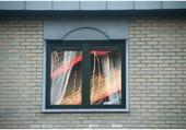 Reflets fenêtre.
